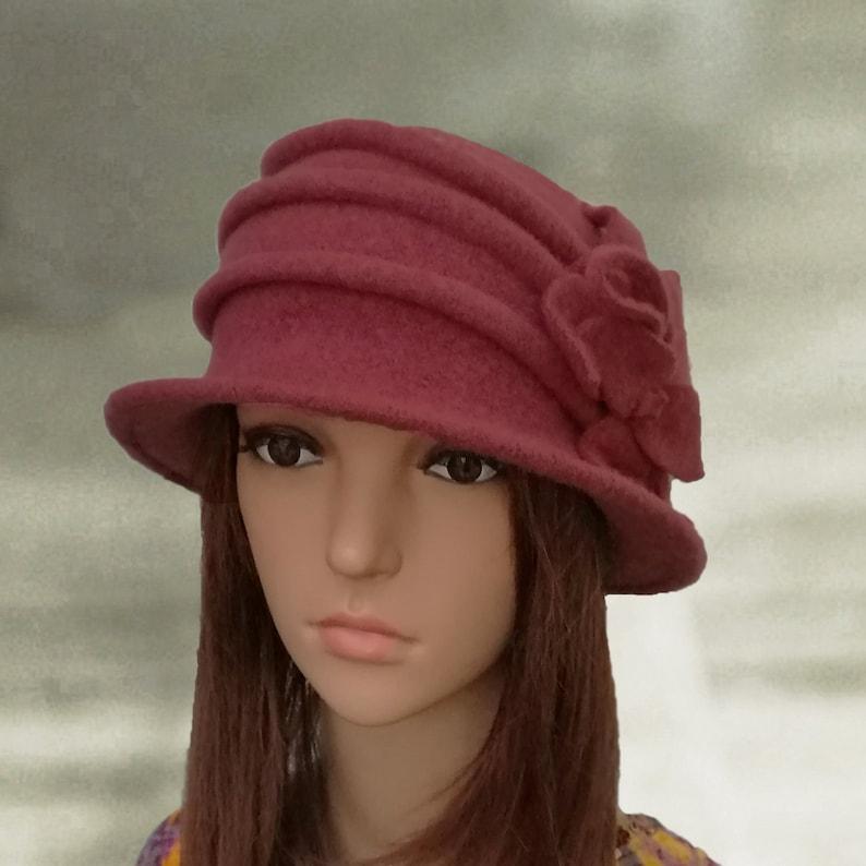 Felted wool hats Womens winter hats Felt hat for women  be77230b299