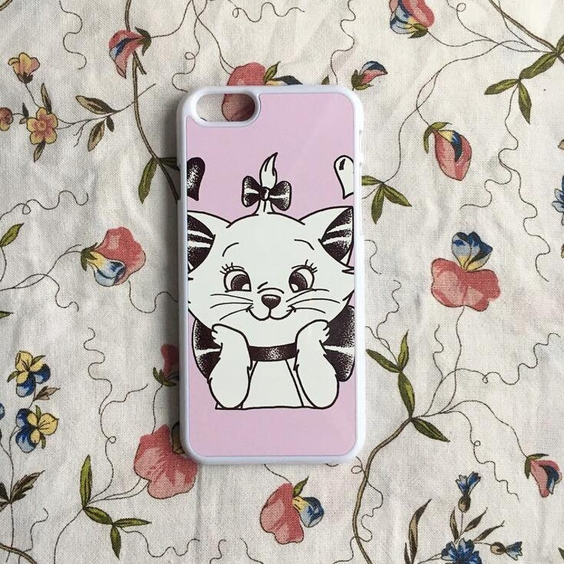 online store 76abc 1e694 Disney Cat Case, Marie Phone Case, Aristocats Iphone 6/6s