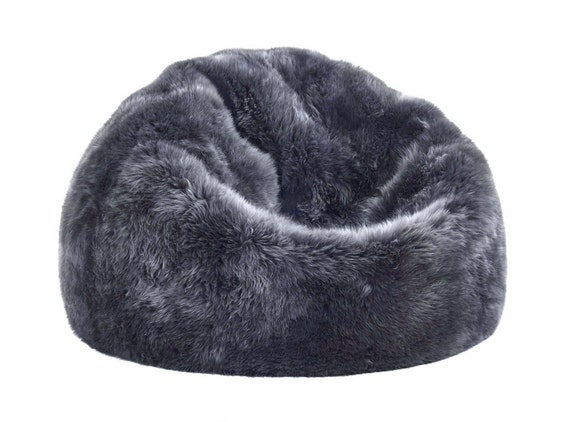Miraculous Premier Modern Sheepskin Beanbag Theatre Beanbag Chair Furniture Wool Sheepskin Authentic Fluffy Modern Seating Decor By Mod Allure Creativecarmelina Interior Chair Design Creativecarmelinacom