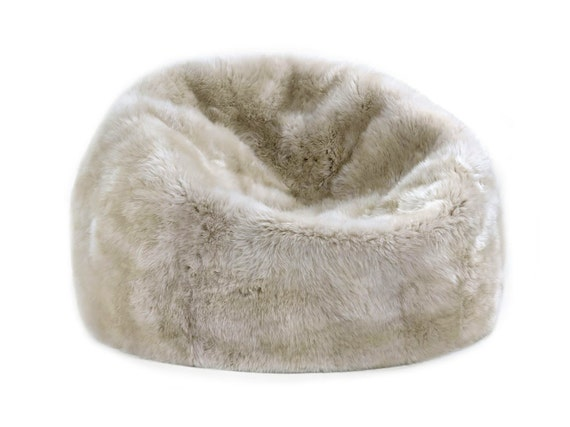 Astonishing Premier Modern Sheepskin Beanbag Theatre Beanbag Chair Furniture Wool Sheepskin Authentic Fluffy Modern Seating Decor By Mod Allure Creativecarmelina Interior Chair Design Creativecarmelinacom