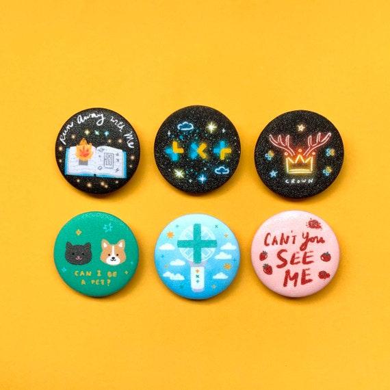 Kpop buttons
