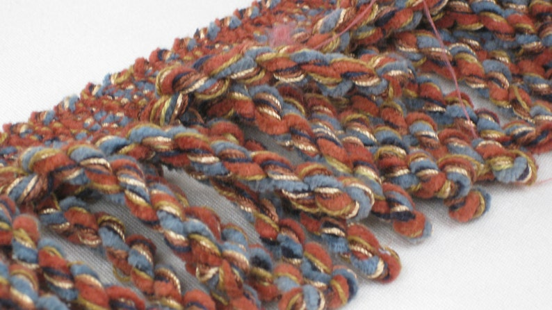 Equestrian Collection Chenille Bullion Fringe. Multi-Colored. image 0