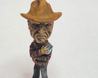 Neil Eyre Eyre Designs Halloween Horror inspired Nightmare Freddy Krueger knife glove spooky Ghouls figurine Limited Edition