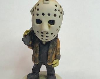 Neil Eyre Eyre Designs Halloween Horror inspired fan made Nightmare Jason Hockey Mask Machete knife spooky Ghouls figurine Limited Edition