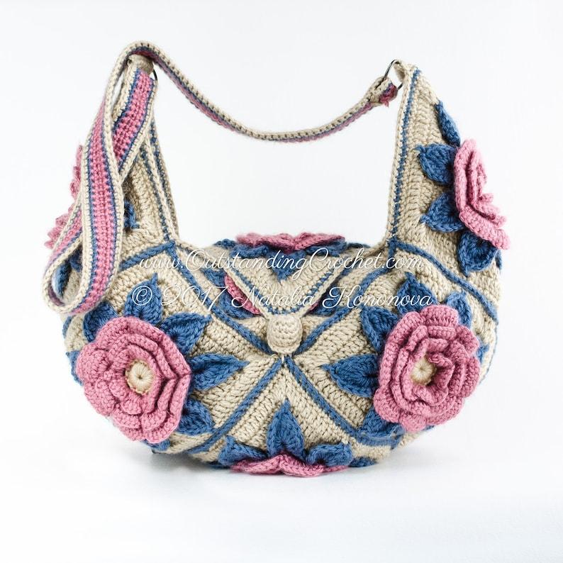 Crochet Bag Pattern Paradise Valley Crochet Purse Pattern Etsy