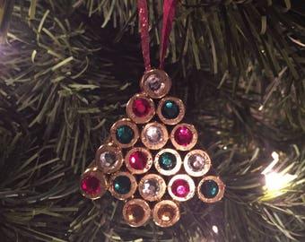 Bullet Christmas Tree Ornament