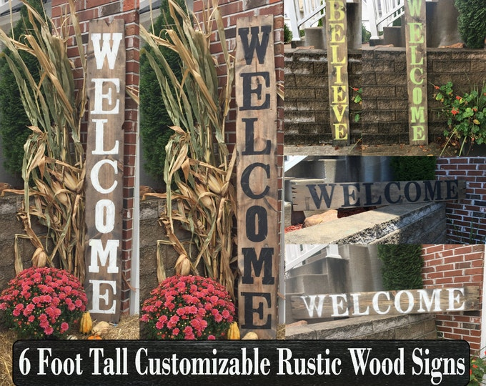 Rustic Wooden Signs Wood Pallet
