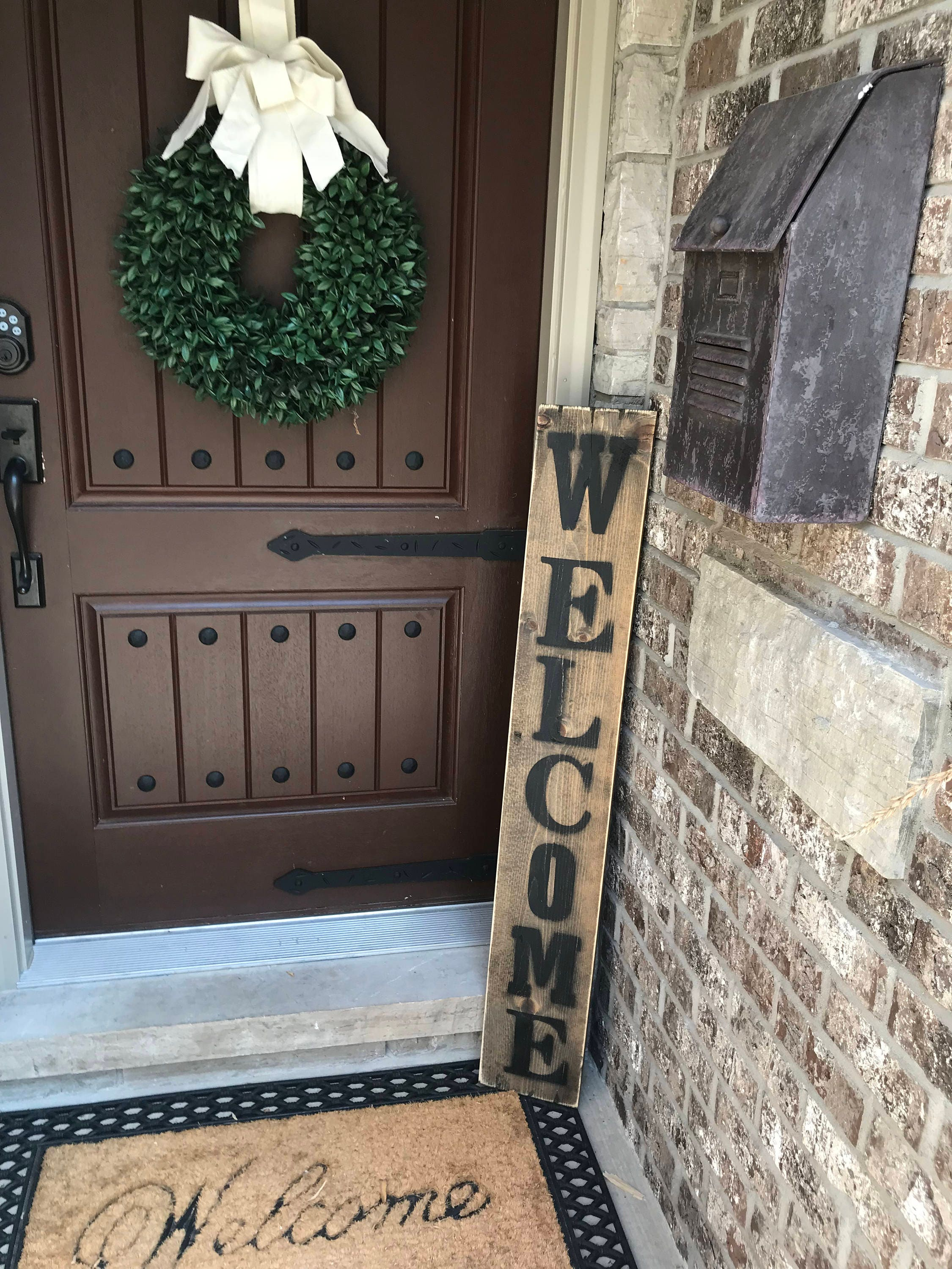 Exceptionnel Large Welcome Signs, Rustic Wood Welcome Signs, Welcome Porch Signs, Front  Porch Decor, Rustic Welcome Signs, Front Porch Wood Welcome Signs