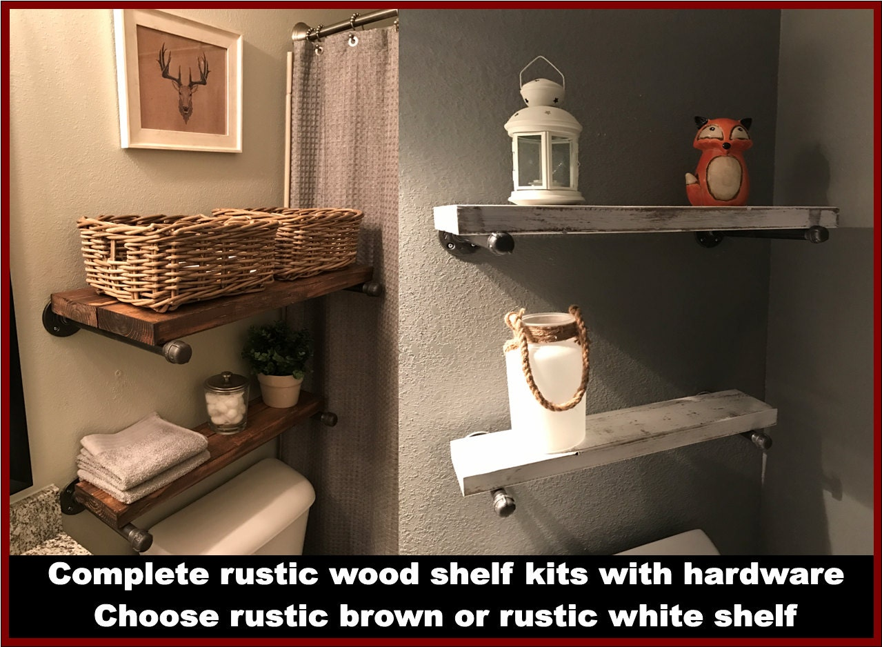 Rustic Shelves, Rustic Wood Shelves, Rustic Wooden Shelves, Rustic Wall  Shelves, Rustic Floating Shelves, Rustic Pipe Shelves, Shelving