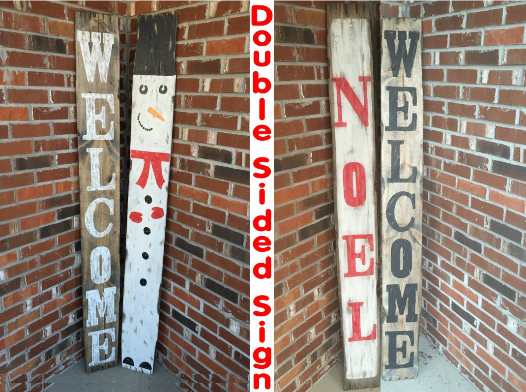 rustic christmas decor christmas welcome sign christmas signs primitive christmas sign porch signs welcome porch sign porch decor