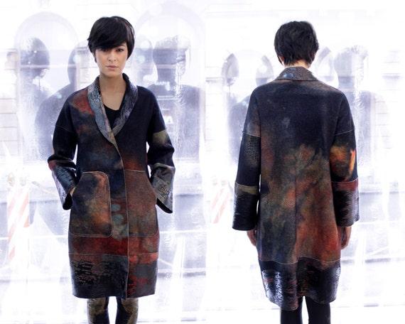 2b826c15b8b Warm wool coat Winter coat Custom made clothing Plus size
