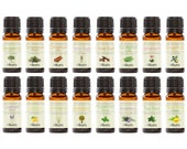 16 x 10ml Pure Essential Oils - Mega - Gift Set Multi Pack - Nikura