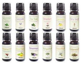 12 x 10ml Essential Oils - Advanced - Gift Set