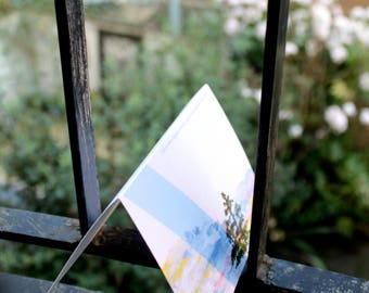 Notecards or Postcards (Set of 5) - outdoor, scenic designs in color or black and white