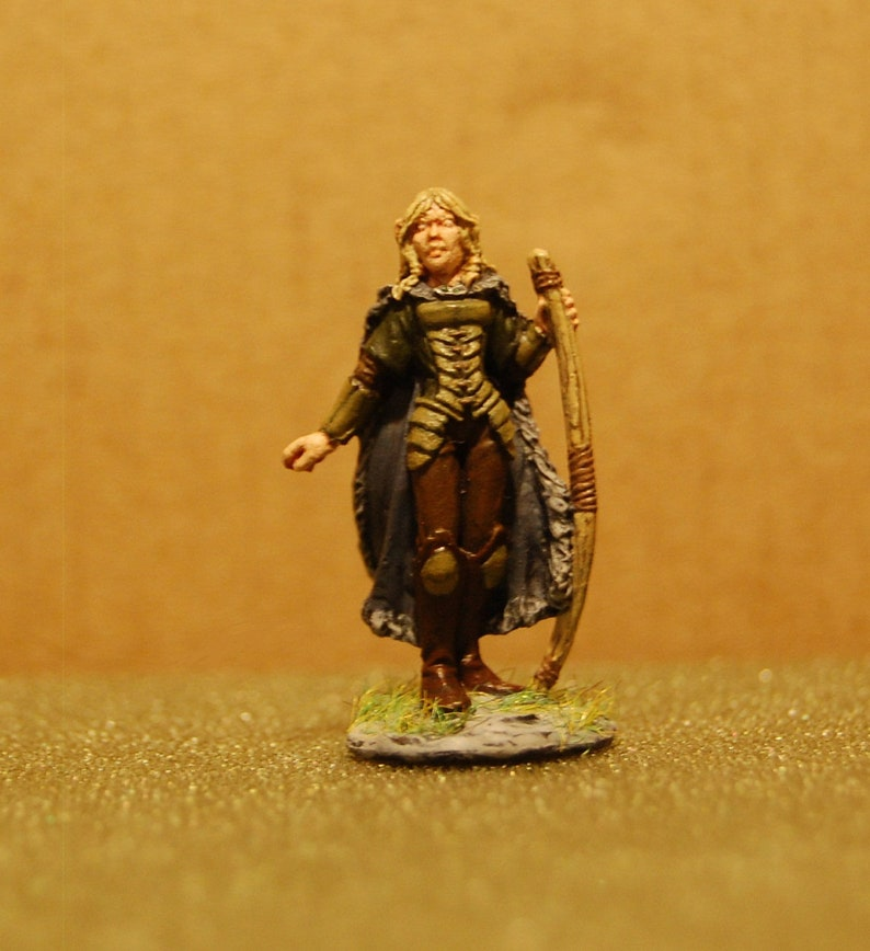 Female Elf Ranger for Dungeons and Dragons, Pathfinder