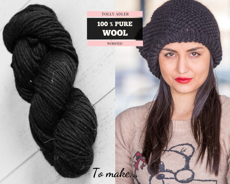 96d3cbefda6 100 g 100 % Chunky Wool Yarn for Knitting Pure Wool Thick