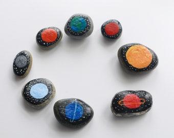 Solar System stones, learning planet rocks