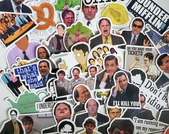 25 office stickers