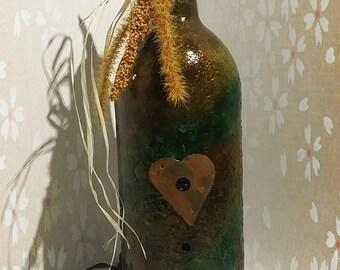 Lighted Bottle