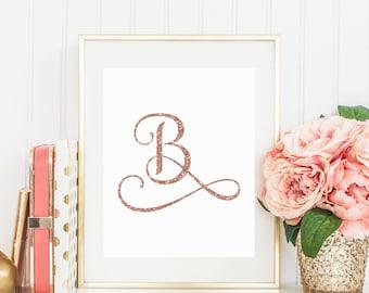 Fancy Letter B Etsy