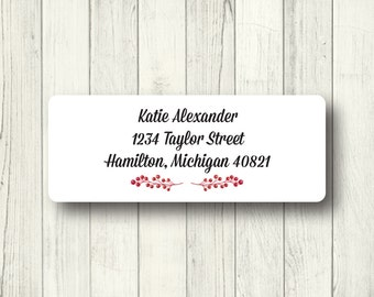 fancy address labels etsy