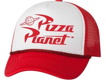 Pizza Planet Trucker Mesh Hat a438003eea99