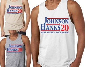e9c762764859f1 More colours. Johnson Hanks 2020 Tank Top Presidential ...