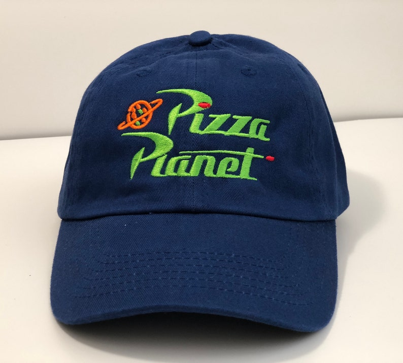 32893fedc7365 Pizza Planet embroidered Hat Toy Story Andy s Buzz Woody