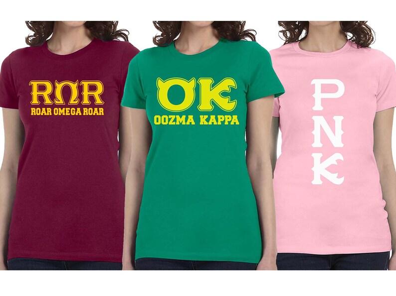 Roar Omega PNK OK T-shirt Monsters University Halloween  fd6c70eae127