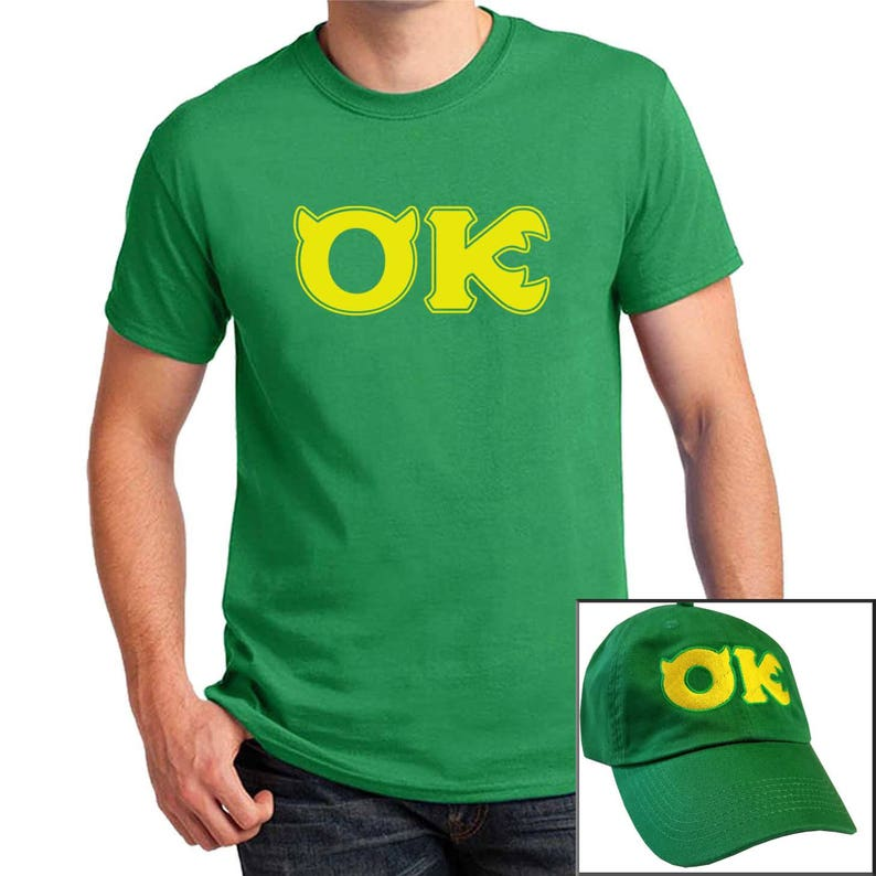Squishy Oozma Kappa T-shirt with Hat combo Monsters University  f2938d18ab3a