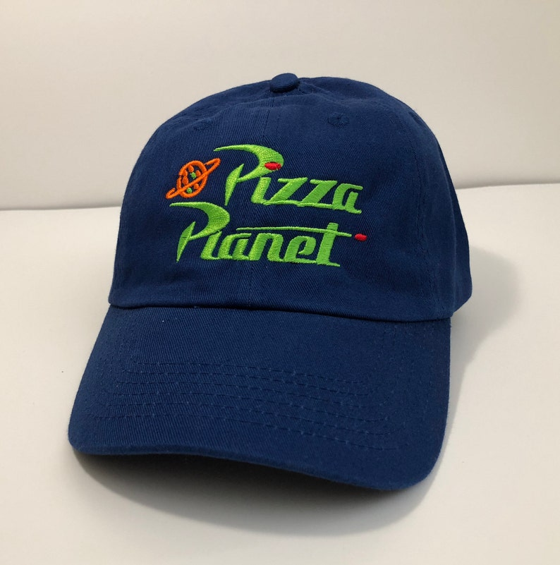 Pizza Planet embroidered Hat Toy Story Andy s Buzz Woody  25467f24200d