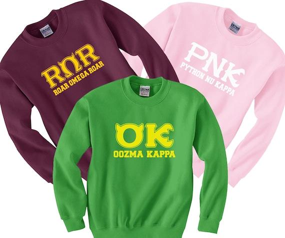 Roar Omega PNK Oozma Kappa Sweatshirt Monsters University  397120ddab5f