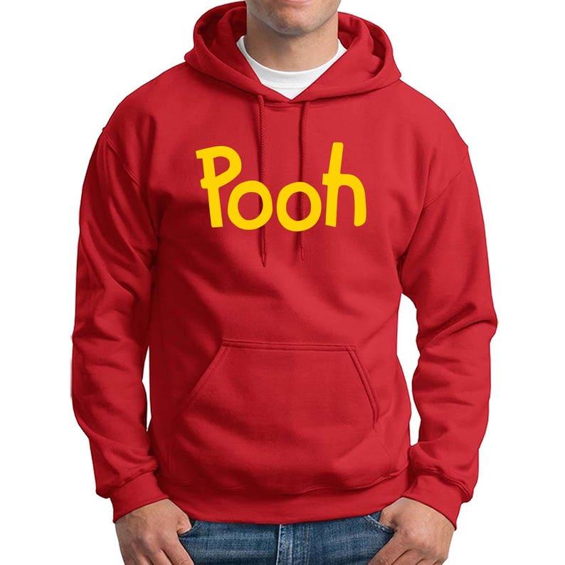 8f8e10162b4f Pooh printed Hoodie Winnie the Pooh Bear Halloween costume