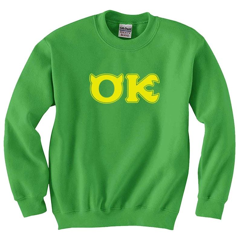 Squishy Oozma Kappa OK Sweatshirt Monsters University  d563a1f79d75