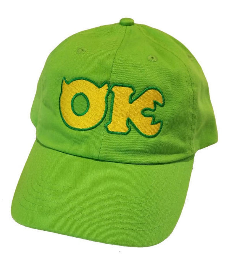 Oozma Kappa logo embroidered Hat Monsters University cap  96001d03b8cfd