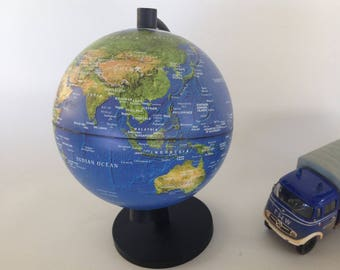 Vintage globe, Stellanova globe, non iluminated globe, small world globe, gift for him