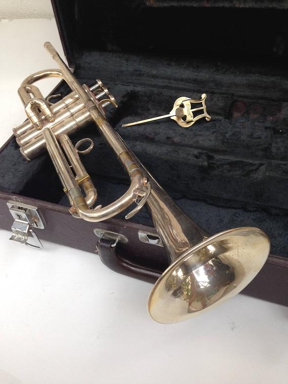 YAMAHA YTR 736 Silver Plated Trumpet Japan With Case, musical instrument,  horn, vintage trumpet, bugle, Japan trumpet, Japan horn, fanfare