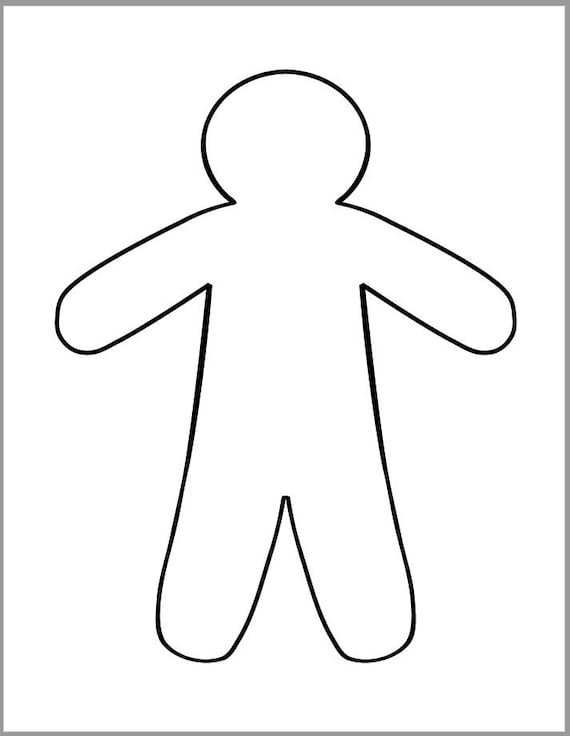 picture about Gingerbread Printable identified as 9 inch Gingerbread Person Template-Printable Gingerbread Male-Xmas Crafts-Holiday vacation Templates-Preschool Crafts-Coloring Web site-Holiday vacation Social gathering
