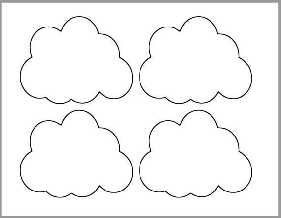Decisive image with regard to cloud template printable