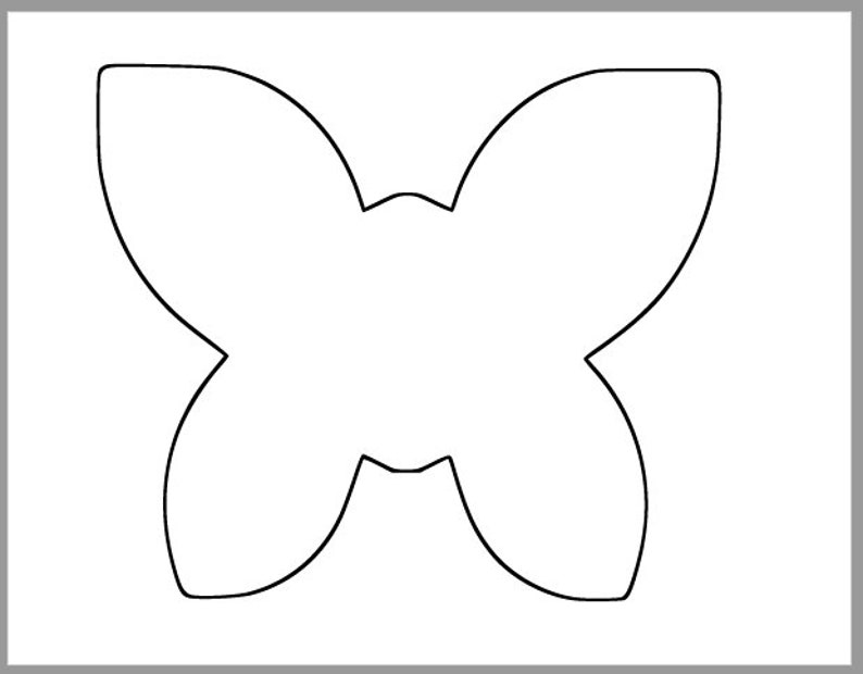 photo relating to Printable Butterfly Template named 8 inch Printable Butterfly Template-High Butterfly Cutouts-Spring Little one Shower-Spring Clroom-Young children Crafts-Coloring Web page-Printable Template