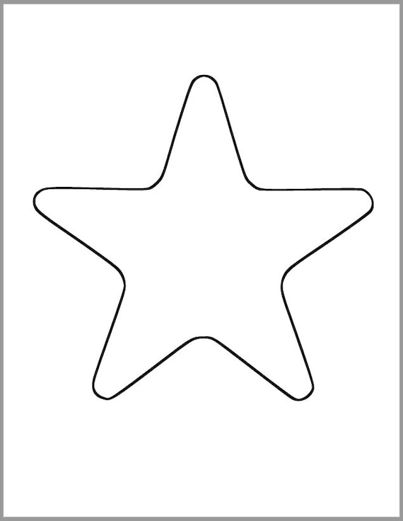 Stupendous image in printable starfish