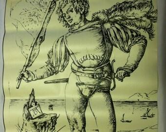 Albrecht Dürer, Standard Bearer (CA. 1502) COPY