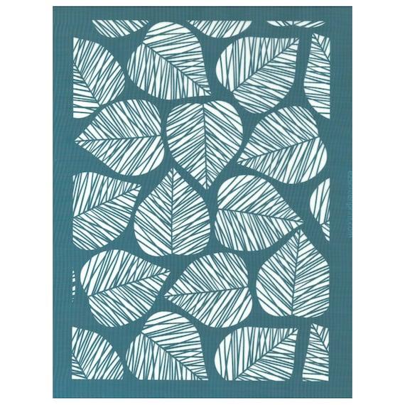 Ceramic DIY Silk Screen Printing Stencil Rose Pattern for Fabric Wood Glass