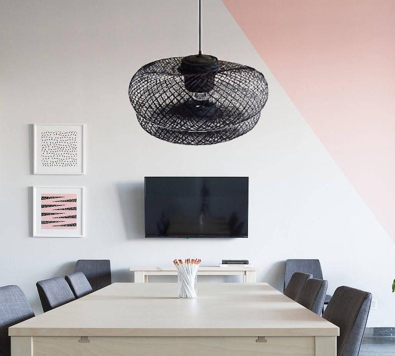 Modern Chandelier-Dining light-rustic Hanging lamp-modern pendant lights-kitchen lighting-kitchen light-wood pendant light-wood lampshade