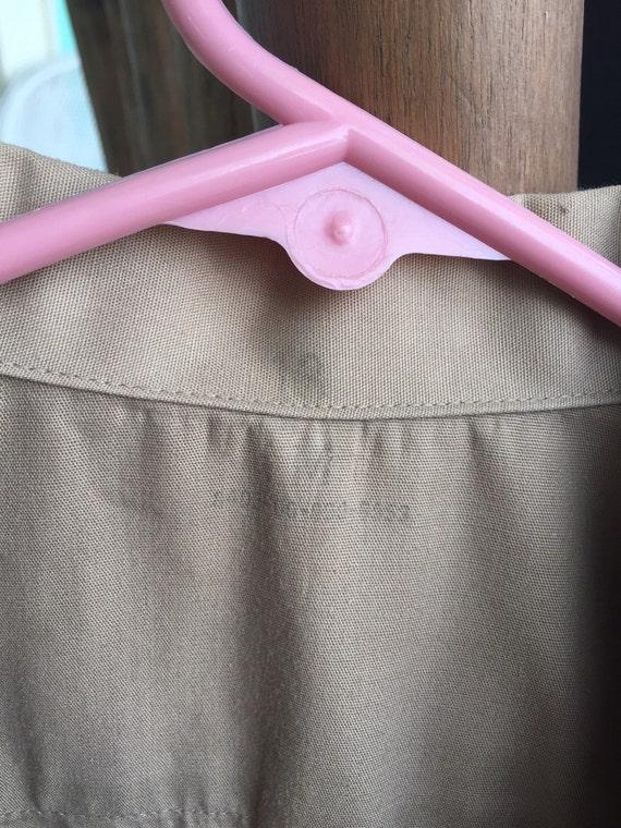 Excellant vintage khaki military shirt. - image 4