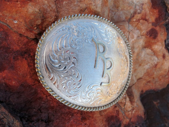 ROY ROGERS SILVER Buckle, Vintage, Commemorative w