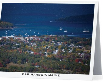 Maine Harbor Card