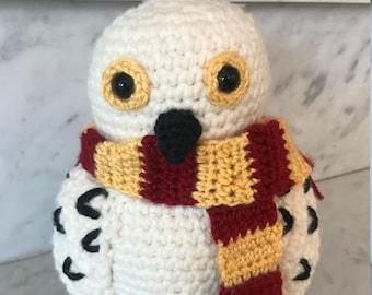 Snowy Owl: Hedwig Inspired Crochet Pattern PDF