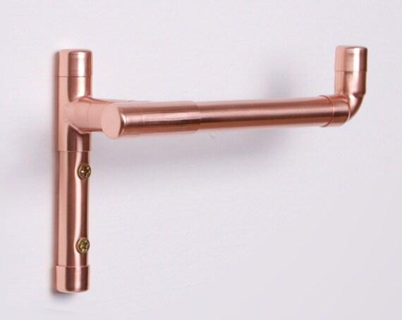 Modern Copper Toilet Roll Holder