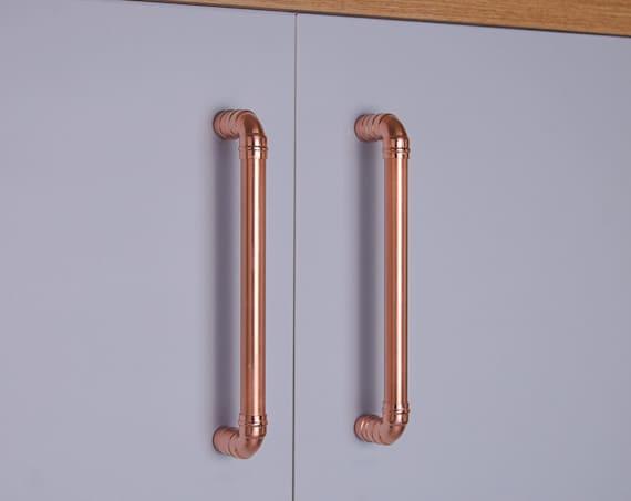 Copper Cabinet Handles